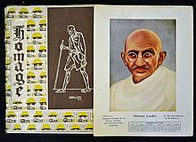 Scarce 1949 Gandhi homage Pictorial Book a book on