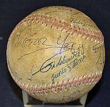 Cuban Politician Fidel Castro Signed Baseball with