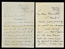 Hand Signed Viscount Waverley (John Anderson) hand