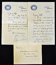 Hand Signed Herbert Morrison handwritten letter fr