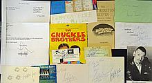 Entertainment Selection of Autographs featuring ?T