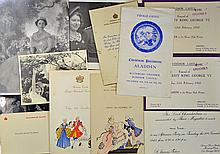 Royalty Selection of c1950s Invitations^ Photograp