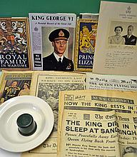 Royalty Selection of 1937 onwards King George VI E
