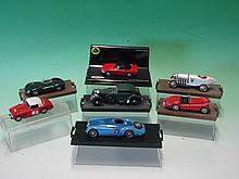 """Four Brumm Collector's Models – Bentley Barnato """"B"""