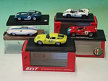 Five Collector's Models. Various makers^ Alfa Rome