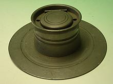 A Pewter Capstan Inkwell