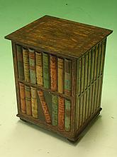 A Huntley and Palmers Biscuit Tin formed as a book