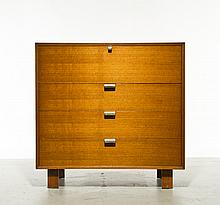 George Nelson Drop Front Desk Chest of Drawers