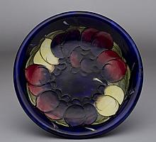 Moorcroft Wisteria Arts & Crafts Pottery Plate