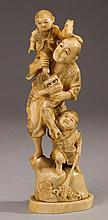 Japanese 19C Carved Ivory 9