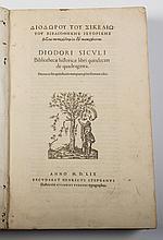 Bibliothecae Historicae Libri Quindecim - 1559 - Book