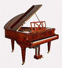 Gaveau Baby Grand Sun Pattern Inlay Mahogany 1932 Piano