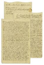 1784 Deed to Property in New Brunswick, New Jersey -- ''...previous to the late Revolution...''