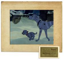 Disney's ''101 Dalmations'' Original 1961 Animation Cel