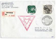 1933 Graf Zeppelin Flown Cover -- From Its ''Century of Progress'' Flight to the 1933 World's Fair in Chicago