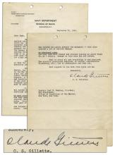 1942 Letter Detailing the Torpedo Damage on the U.S.S. California During the Attack on Pearl Harbor