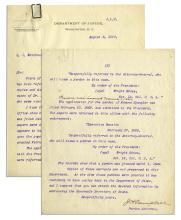 Letter Regarding the Pardons for Lincoln Assassination Conspirators Dr. Mudd, Edmund Spangler and Samuel Arnold