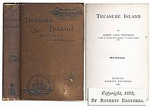 First American Edition of Robert Louis Stevenson's Classic ''Treasure Island'' -- The Rare First Illustrated Edition