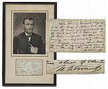 Nicely Framed Ulysses S. Grant Autograph Letter Signed -- Regarding the Order of the Masons