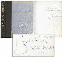 Jacqueline Kennedy Book Signed With Her Autograph Inscription As First Lady in 1961