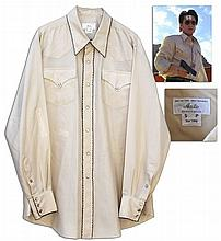 Sean Penn Custom Wardrobe -- Shirt From Oliver Stone Crime Film ''U-Turn''