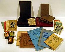 Cheery Ideas VINTAGE & ANTIQUE ESTATE BOOKS & EPHEMERA Piso Miniature Almanac Kappa Phi Disney Card Games Heilige Wallfahrt Stations of Cross