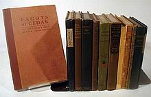 12V VINTAGE AND ANTIQUE SIGNED POETRY A Line-O'-Verse Or Two Bert Leston Tarlor Plays For Poem-Mimes Alfred Kreymborg Barefoot Days Byron Williams The Trail to Boyland Wilbur D. Nesbit John McGovern's Poems Carmina T.A. Daly Verses William Grant