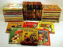 75V Bomba the Jungle Boy VINTAGE CHILDREN'S Juvenile Series Roy Rockwood The Swamp of Death Among the Salves Terror Trail Rand McNally Start-Right Elf Books Snow White Rose Red Dogs Cats Animals The Lion And The Mouse Snuggles Illustrated