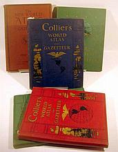 5V New World Decorative ANTIQUE COLLIER ATLASES World War II Years Pre WWII Allies & Axis Occupied Countries British India Persia  Palestine French West Africa Indochina Italian Somaliland