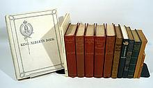 13V Upton Sinclair Orient COLLECTIBLE ESTATE BOOKS Out Of The East Lorna Doone Study American Education Flaubert Decorative Antique Austen Cornell University