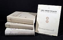 4V Asian Islamic Art VINTAGE ARS ORIENTALIS 1954-1961 Middle East Sufi Manuscripts Smithsonian Freer Sackler Galleries Iconography Sculpture Textiles Chinese Paintings Tibet Architecture