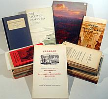 50Pcs Vintage & Antique HISTORY OF AMERICAN WEST Grand Canyon Death Valley California Francis Drake Native American Indian Ancient Landscapes Wheelock Mapping