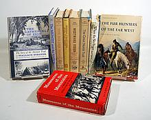 9V Mormonism AMERICAN WESTERN HISTORY Native American Indian Prairie Fur Trapping Mining Stegner Spanish Mission Oregon Trail Colored Maps