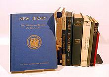 9V Hackensack VINTAGE & ANTIQUE HISTORY OF NEW JERSEY Hunterdon County Rumson Pitman United States American Coast Rivers Agriculture