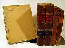 5V Leather Bound Illustrated ANTIQUE ESTATE BOOKS Kipling Maxwell Sea & Sussex Sherwood Pitz Warrior Lord Rollins Ancient History Geography Pyle