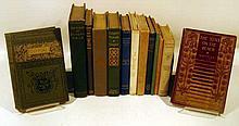 13V Signed Acharya Perin Flagg ANTIQUE DECORATIVE POETRY Cowper Eugene Field Rossetti Verlaine Lowell Untermeyer Coleridge Tennyson Whittier