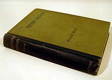 Henrick Ibsen HEDDA GABLER A DRAMA IN FOUR ACTS 1891 First US Edition Landmark European Realist Theater Edmund Gosse Translation