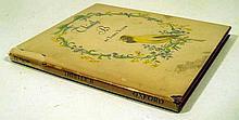 Tasha Tudor THISTLY B 1949 First Edition Vintage Children's Literature Author's Color Illustrations Scarce Dust Jacket