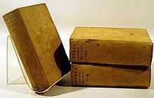 3V Seneca L ANNAEI SENECAE OPERA QUAE EXSTANT 1672 Antique Latin Literature Vellum Binding