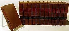 14V Charles Rollin HISTOIRE ANCIENNE 1818-1819 Antique History Egypt Carthage Assyria Babylon Medes Persia Mecedonia Greece Decorative Leather