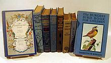 8V Aesop's Fables ANTIQUE CHILDREN'S LITERATURE Molesworth Carrots Otis Cruise Wishaw Bear Hunter Major Blue River Van Horn Sport Craft Orton Gold-Laced Burgess Bird Book
