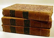3V Jean-Sylvain Bailly MEMOIRES DE BAILLY AVEC UNE NOTICE SUR SA VIE DES NOTES ET DES ECLAIRCISSEMENS HISTORIQUES 1821-1822 Antique French History Revolution
