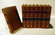 8V THE PLAYS OF WILLIAM SHAKESPEARE 1823 Antique English Drama Engraved Plates George Stevens Corrected Copies Malone Chalmers Commentary