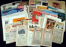 Judge Mentor Circus ANTIQUE MAGAZINES & EPHEMERA Travel Maps New York Queen Mary Illustration Poets Politicians N C Wyeth Petroleum Texaco Marx Letterheads Deed Certificated Farming Gone With The Wind