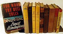 10V First & Early Printings COLLECTIBLE VINTAGE & ANTIQUE MODERN LITERATURE Dust Jackets Hemingway Salinger Mann Anderson Wolfe Sweeney  O'Hara