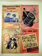 80+ Pc. Vintage Decorative SHEET MUSIC Movie Stars Popular Singers Band Leaders