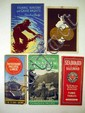 Vintage TRAIN & RAILROAD EPHEMERA Canadian & American Travel Santa Fe Missouri Pacific