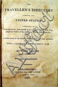 John Melish THE TRAVELLER'S DIRECTORY THROUGH THE UNITED STATES 1820 Antique Geography Full-Page Maps Topographical Tables