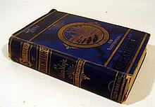 Jules Verne STORIES OF ADVENTURE MERIDIANA / A JOURNEY TO THE CENTRE OF THE EARTH 1874 Antique Novels French Literature Plates Decorative Binding
