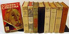 9V Jack London Greta Garbo ANTIQUE LITERATURE Photoplay Barrymore MGM Dust Jackets Wodehouse Mae West Constant Sinner Wolf Of Wall Street Dirigible Herman Melville